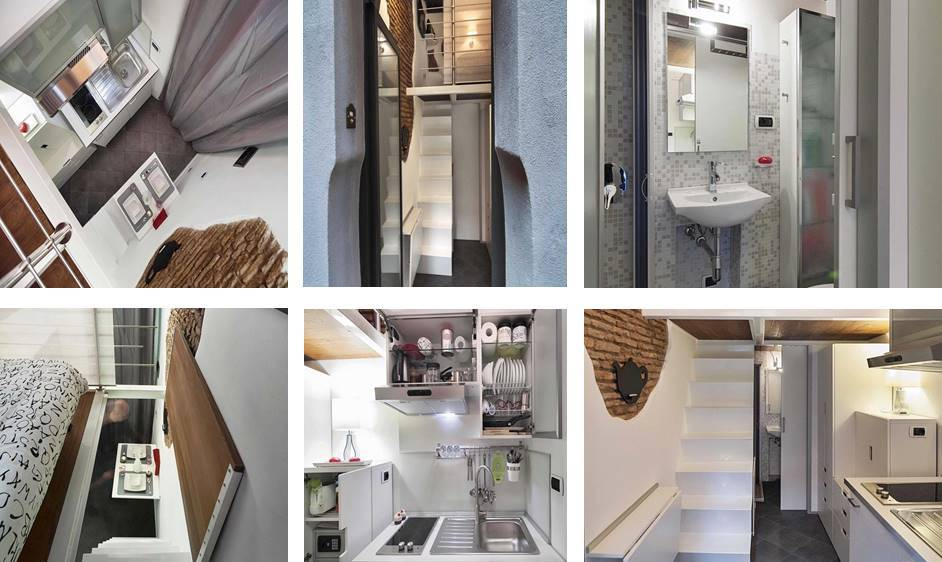 Gentil The Smallest House In Italy, 22.86 Square Meters