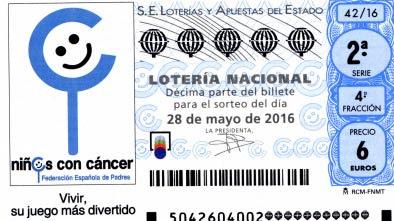 loteria 28 mayo 2016