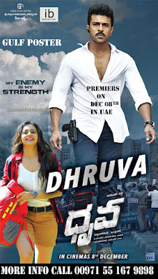 Dhruva 2016 Dual Audio HDRip 480p 250mb HEVC x265