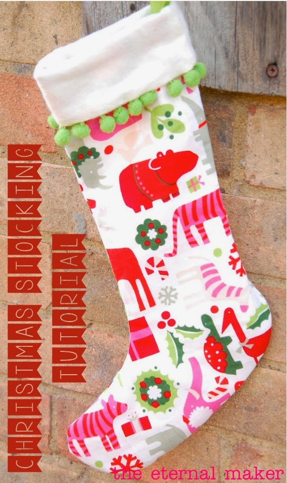 Super Easy Christmas Stocking