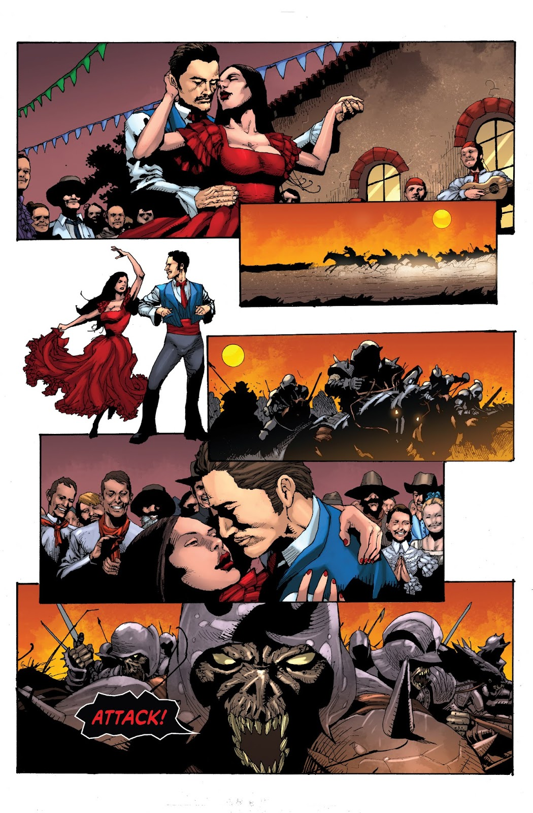 Zorro: Swords of Hell Issue #1 Page 7