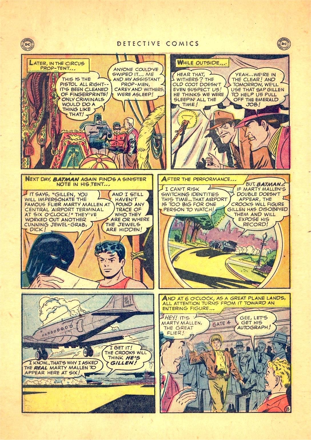 Read online Detective Comics (1937) comic -  Issue #166 - 10