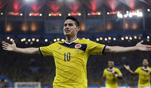 James Rodriguez hiện tượng của World Cup 2014