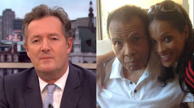 09e446bc5 Piers Morgan (left) says boxing legend Muhammad Ali was more racist against  white people than US Presidential candidate