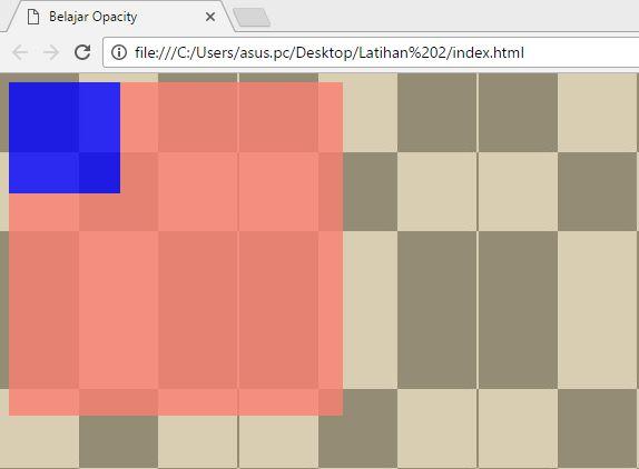 Cara membuat property opacity pada css3 denga mudah