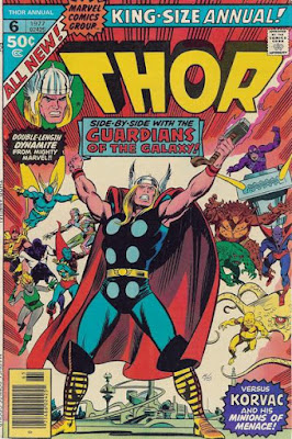 Thor Annual #6, Guardians of the Galaxy