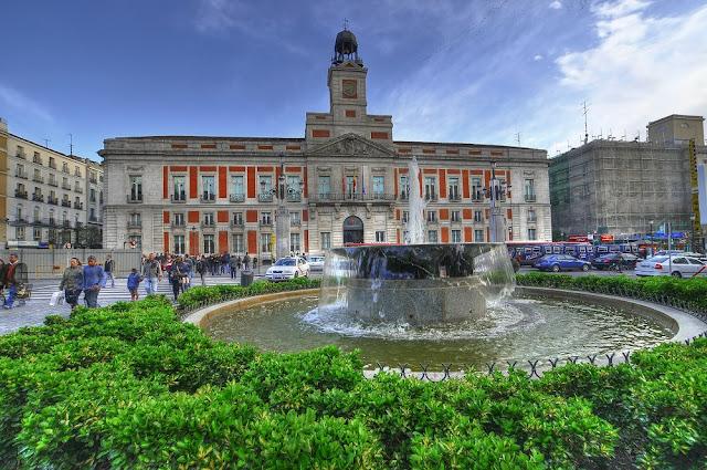 Puerta del Sol de Madri