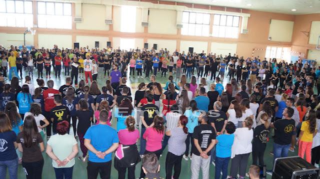 Με 700 άτομα η πρόβα του Σ.Πο.Σ. Κ. Μακεδονίας για το 12ο Φεστιβάλ Ποντιακών Χορών