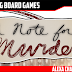 A Note for Murder Kickstarter Preview