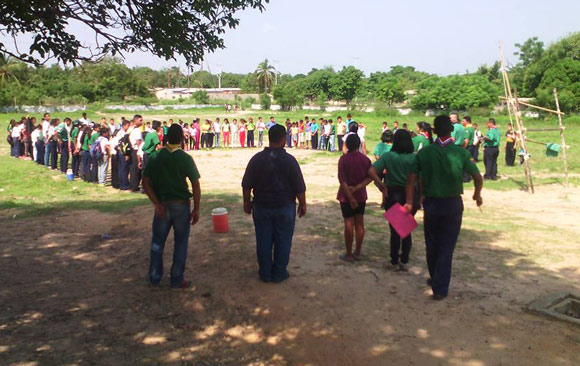 Celebran semana del Scout en La Villa