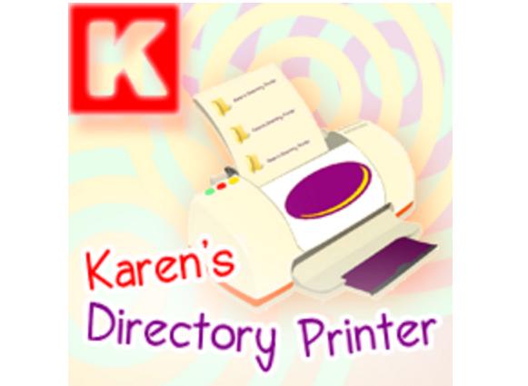 Karen's Directory Printer
