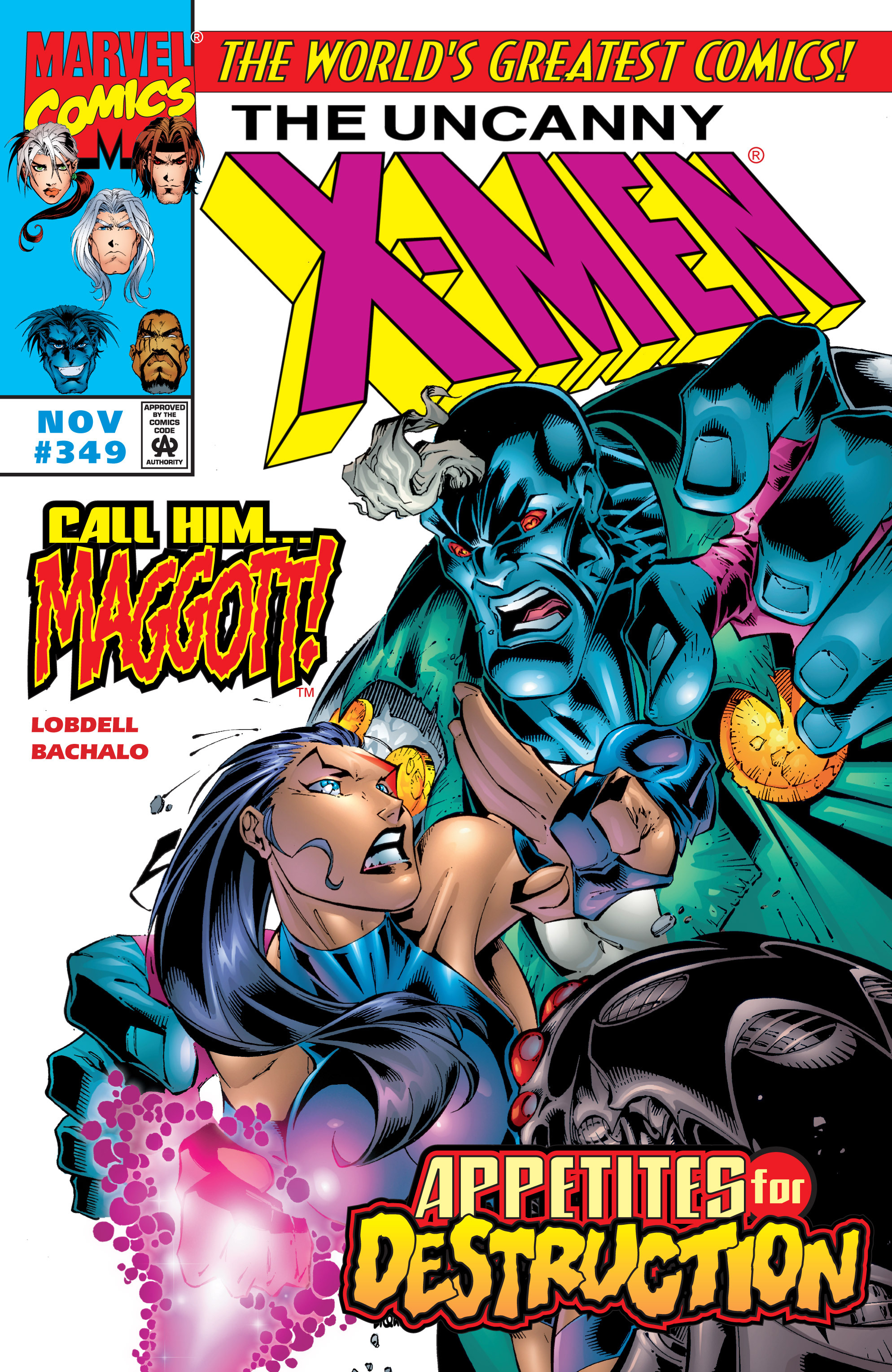 Uncanny X-Men (1963) 349 Page 1