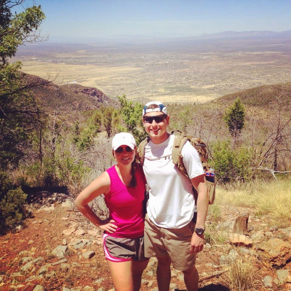 Hiking Carr Peak in Sierra Vista, Arizona