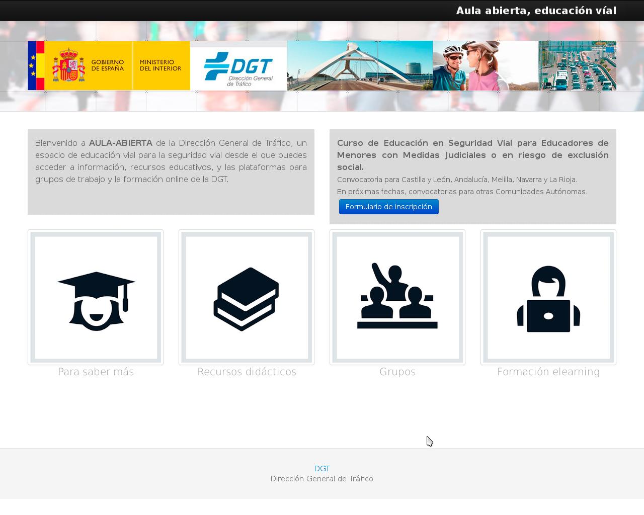 http://www.aula-abierta-dgt.es/