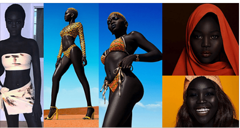 Meet Sudanese model Nyakim Gatwech who was bullied for her dark skin growing up, but now she's become an international sensation thanks to her stunning look and teachings about self-love.