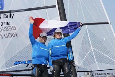 Billy Besson et Marie Riou, sélectionnés pour les JO de Rio.