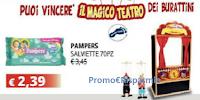 Logo Con Pampers puoi vincere il magico teatro dei burattini