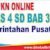 Soal PKN Online Kelas 4 SD Bab 3 Pemerintahan Pusat - Langsung Ada Nilainya