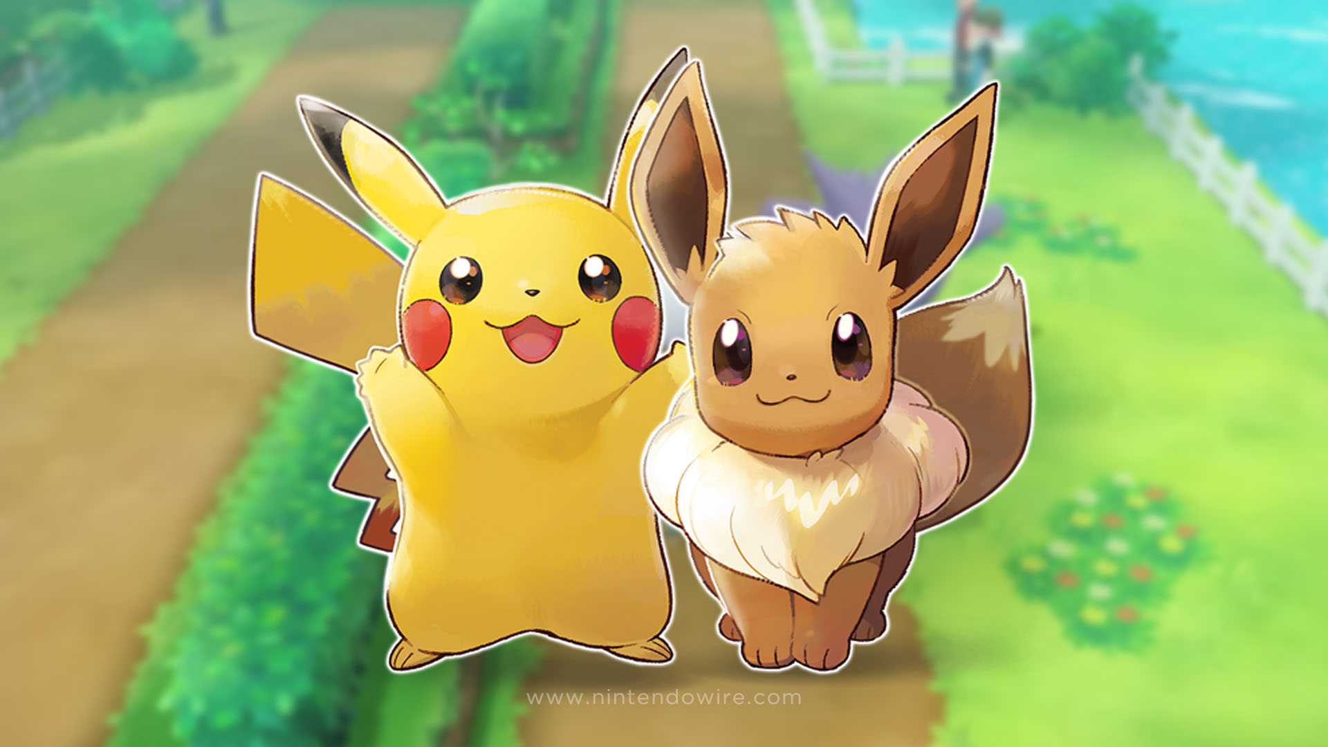 Pokemon Let S Go Pikachu And Eevee Wallpapers Read Games Review