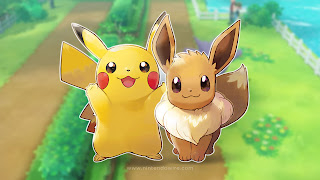 Pokemon Let's Go Pikachu and Eevee PC Wallpaper
