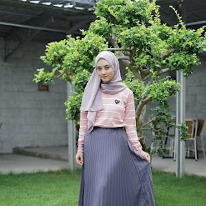 Carissa Pleated Skirt Grey