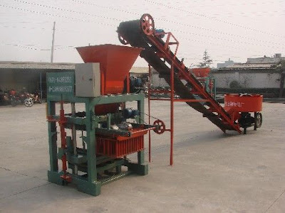 CLC Foam Concrete Block Making machine in Bangladesh.