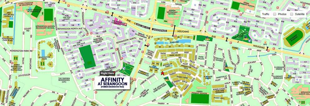 Affinity at Serangoon Location Map