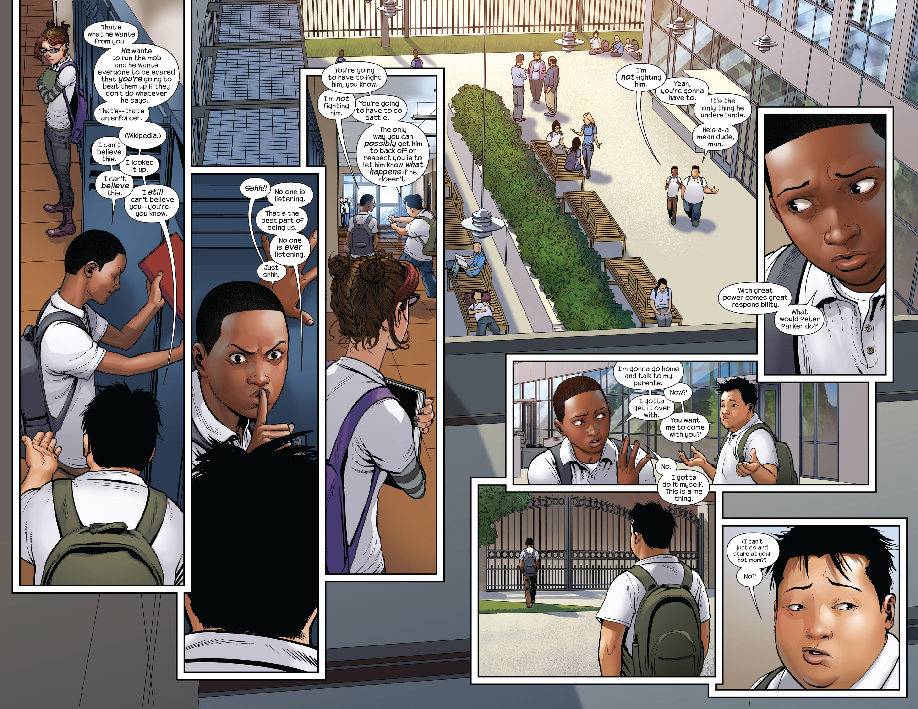 Read online Ultimate Comics Spider-Man (2011) comic -  Issue #12 - 6