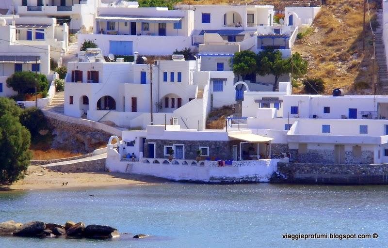 Porto di Sikinos, curiosa abitazione
