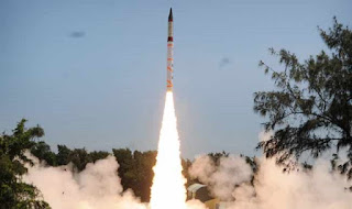 Agni-I ballistic missile successfully test-fired by India from Abdul Kalam Island In Odisha