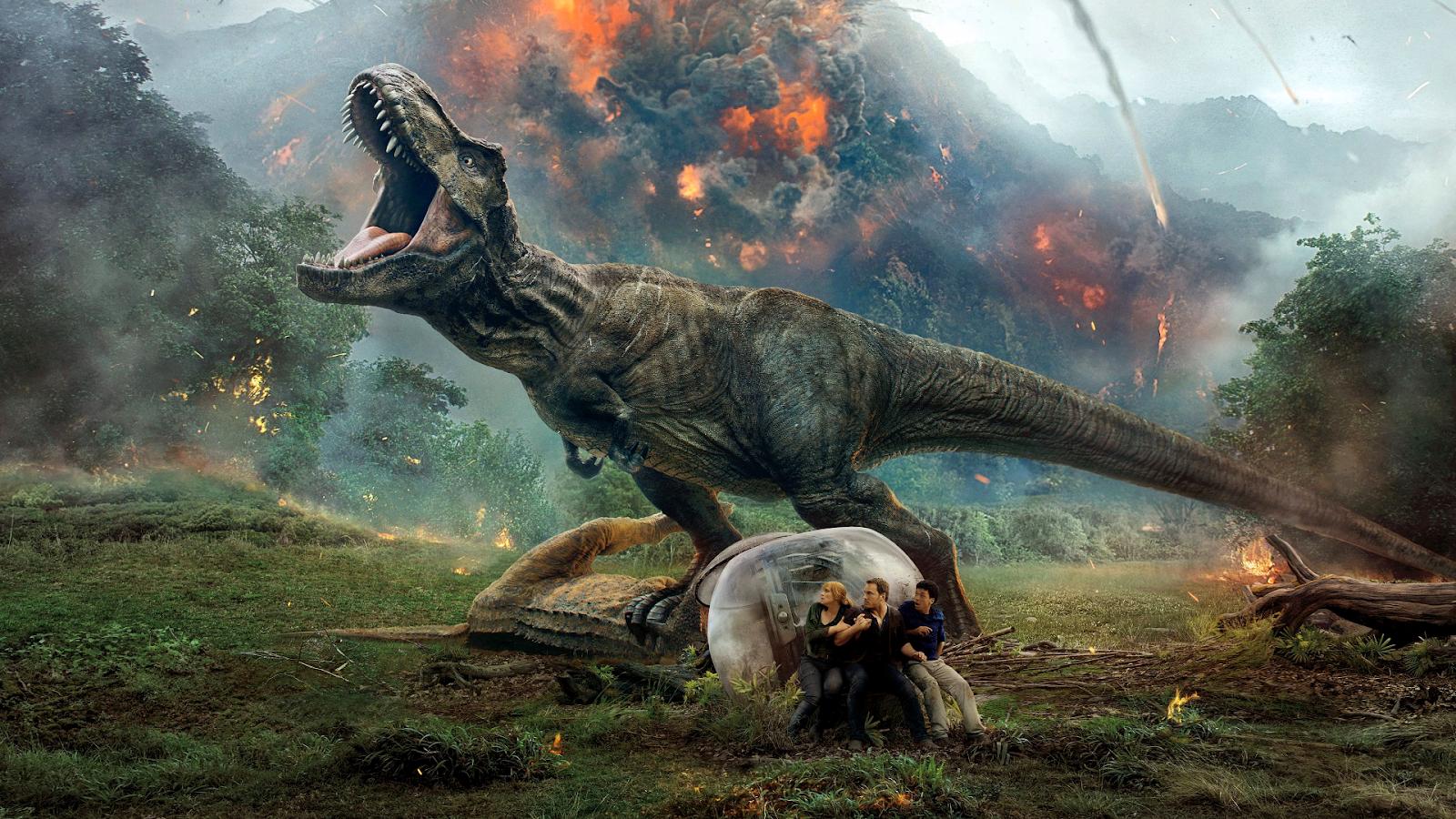 Jurassic World Fallen Kingdom - 1920X1080 Wallpapers -7585
