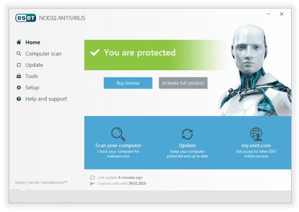 update serial keys for ESET NOD32: Antivirus 2020 v8-v9 ...