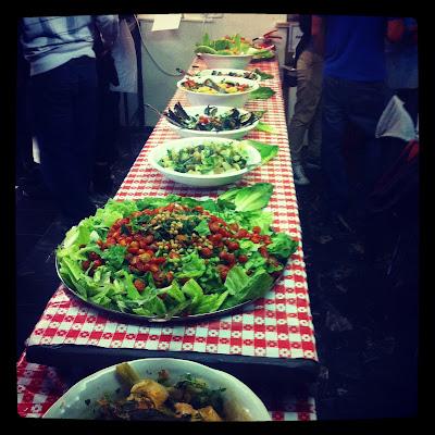 cena del shabath en Abraham Hostel. Jerusalem | turistacompulsiva.com