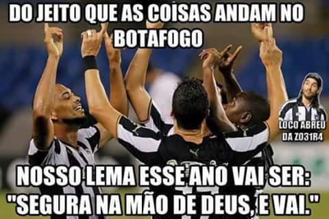 Hoje tem jogo do Botafogo e não estou nem ligando