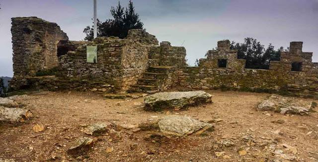 El castillo medieval de Begur