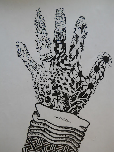 *Fun Art 4 Kids: Zentangle Hands