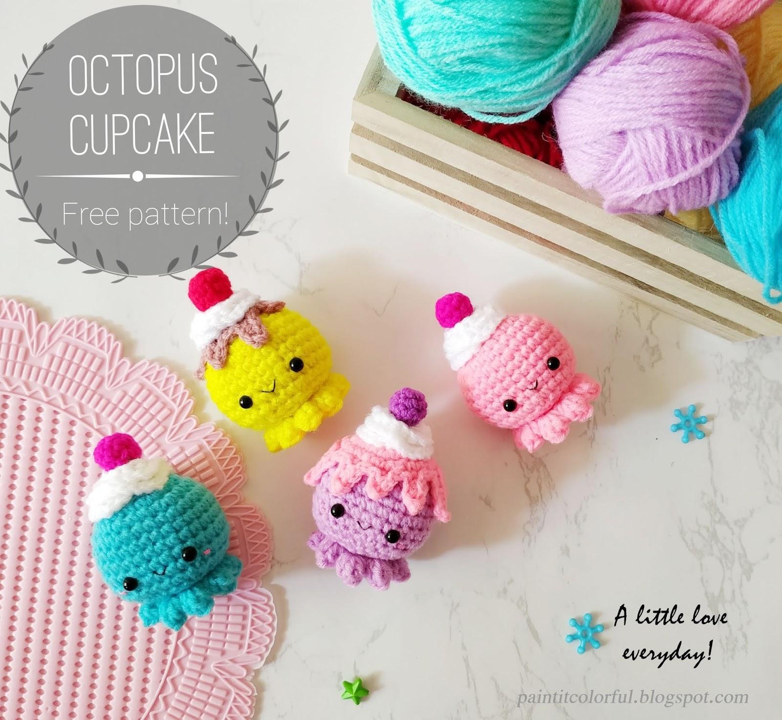 Free (Crochet) Pattern Friday! Octopus Amigurumi | Choly Knight | 1474x1600
