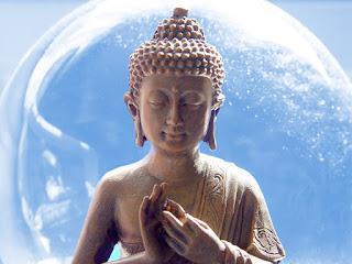 Blue Buddha - Casey Douglass