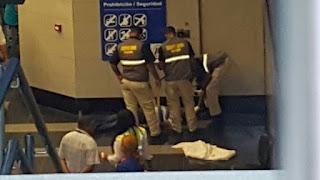 Fallece un hombre de un infarto fulminante en la estación del metro Joaquin Balaguer