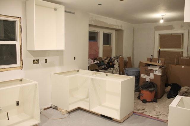 Kitchen Renovation Cabinets Assembled Danks And Honey