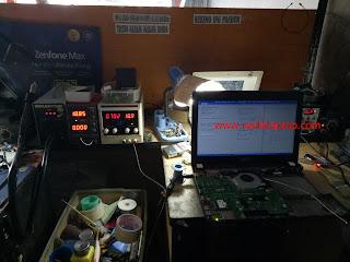 Service Laptop Asus X451C Ram Onboard Rusak