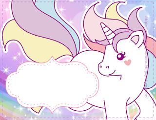 Unicorn: Free Printable Mini Kit.