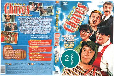 Série O Melhor do Chaves Volume 2 DVD Capa