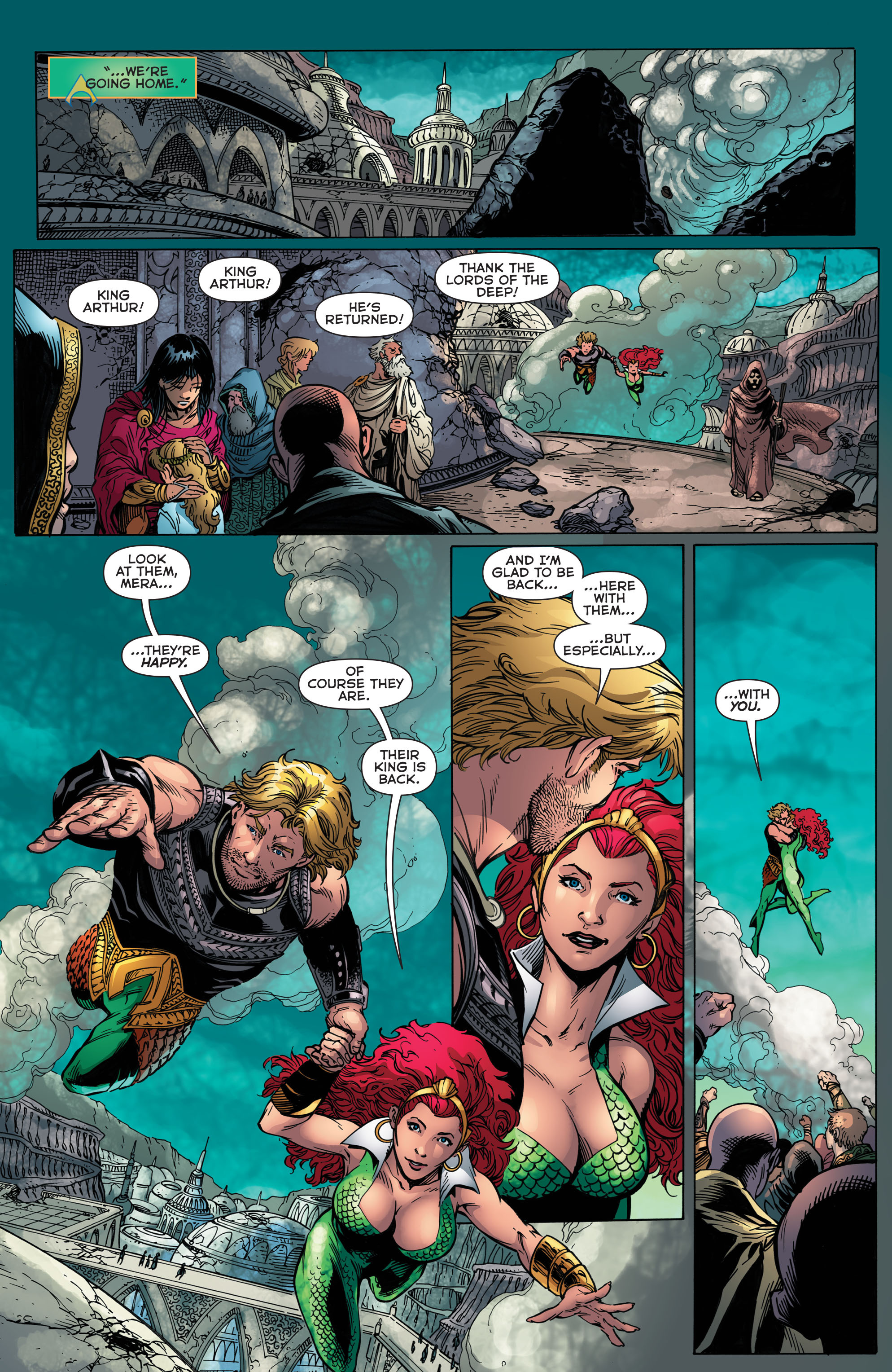 Read online Aquaman (2011) comic -  Issue #48 - 19