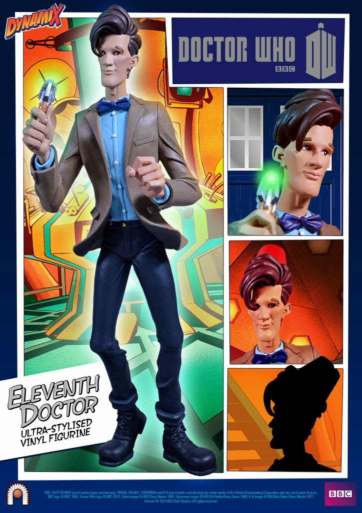 Eleventh Doctor Dynamix Doctor Who Vinyl Figure by Big Chief Studios