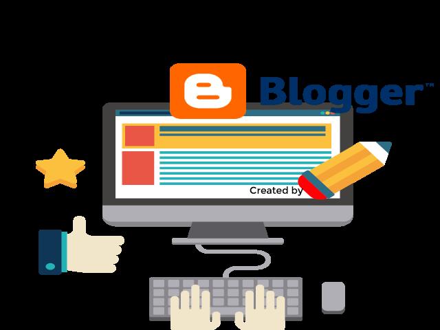 como quitar los creditos de blogger