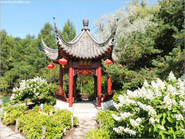 The Pavilion of Infinite Pleasantness en el Jardín Chino del Jardín Botánico de Montreal