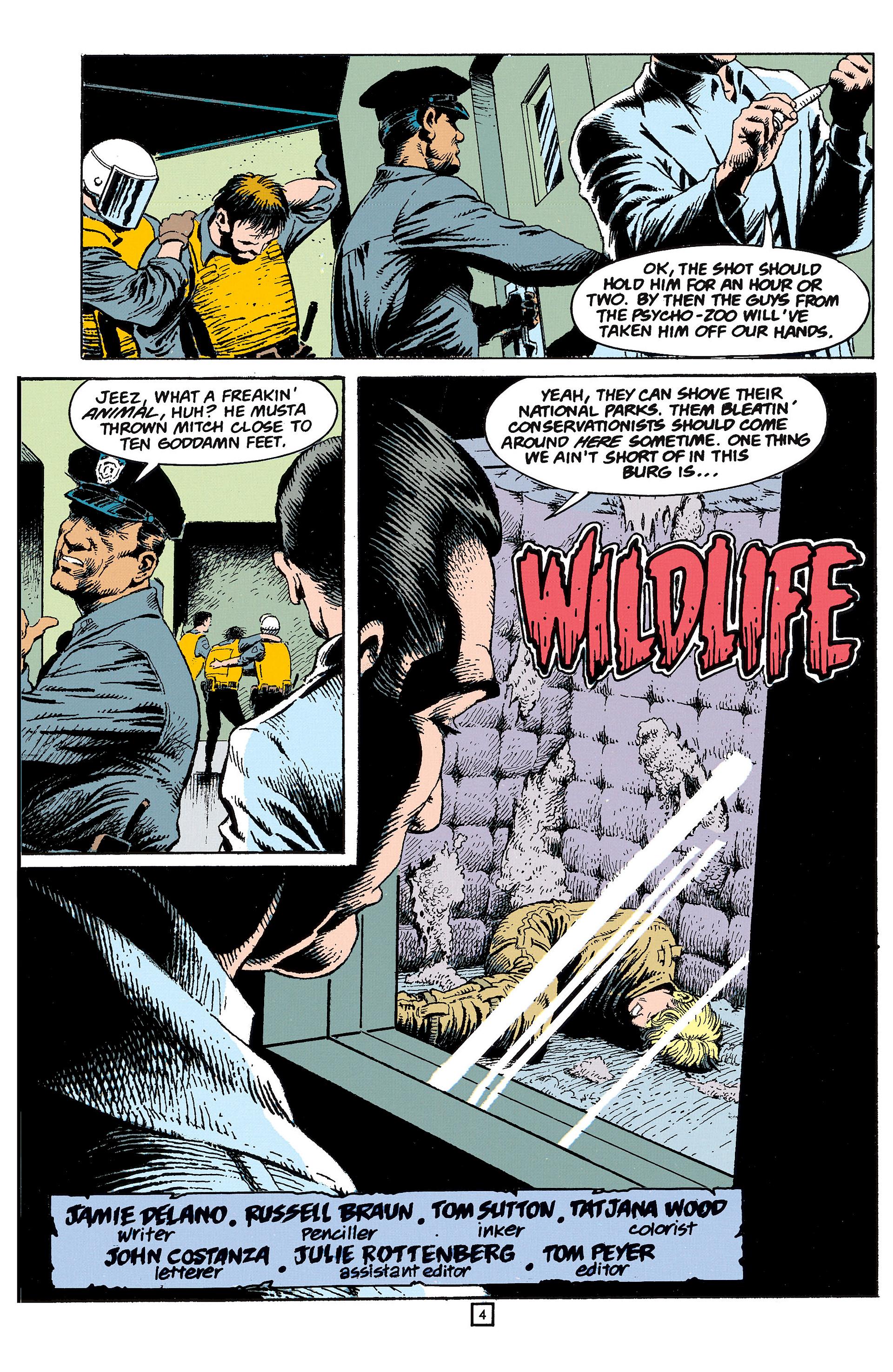 Read online Animal Man (1988) comic -  Issue #60 - 5