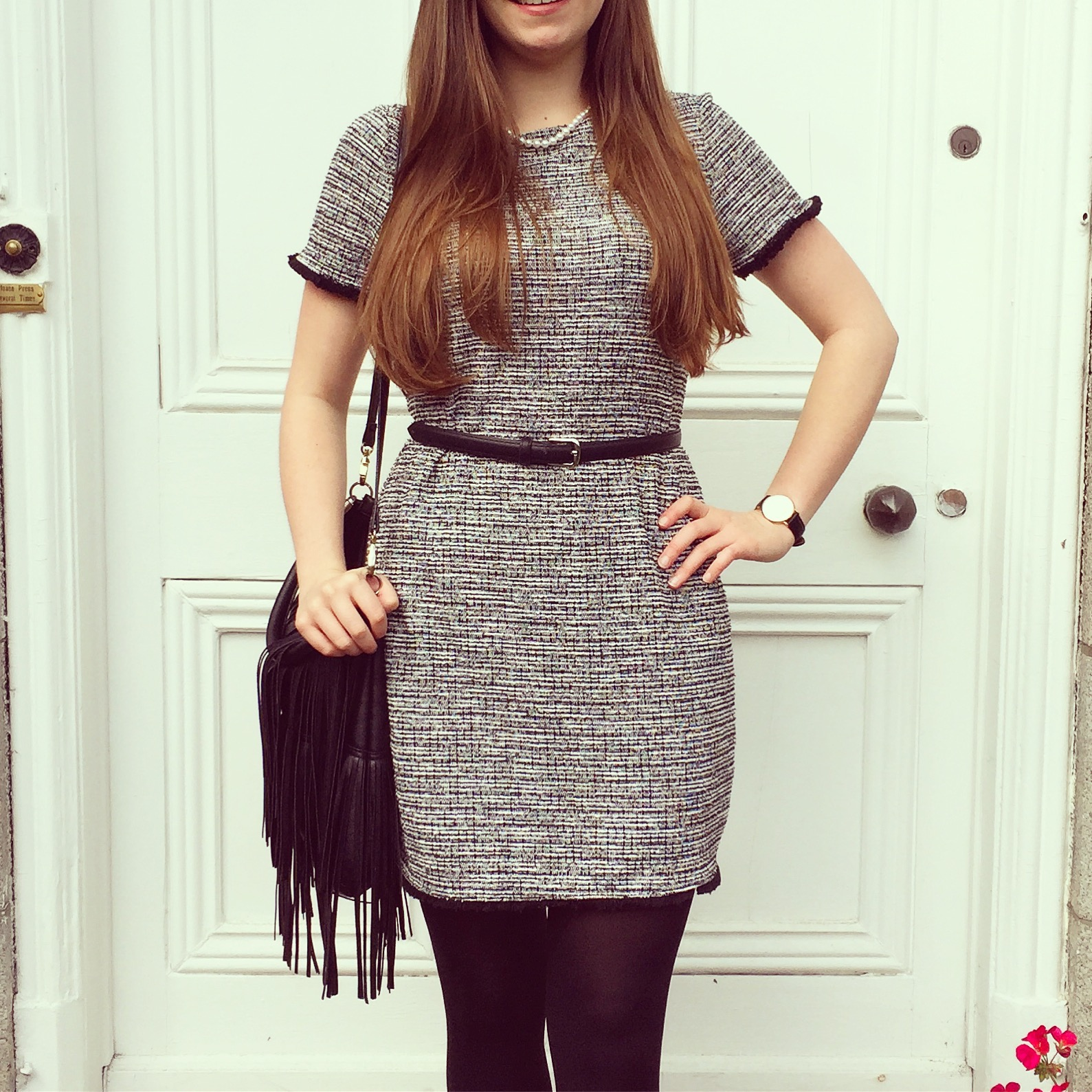 Chanel Lookalike Dress - Outfit Of The Day