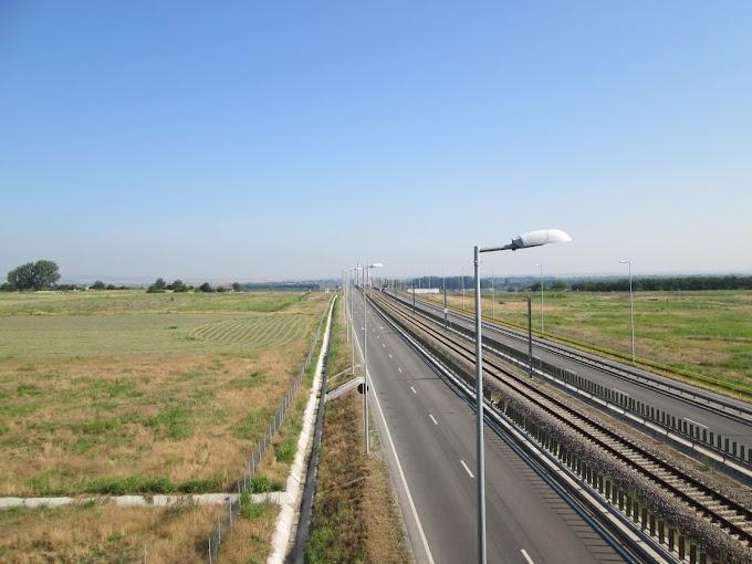 O scurtă plimbare cu bicicleta pe podul Calafat - Vidin
